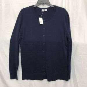 GAP Navy or Oatmeal Cardigan Sweater XL Tall